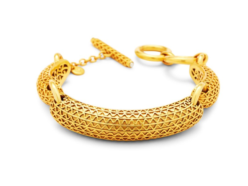 Sofia Gold Bracelet by Julie Vos